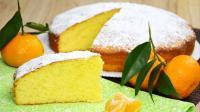 Torta al mandarino senza burro